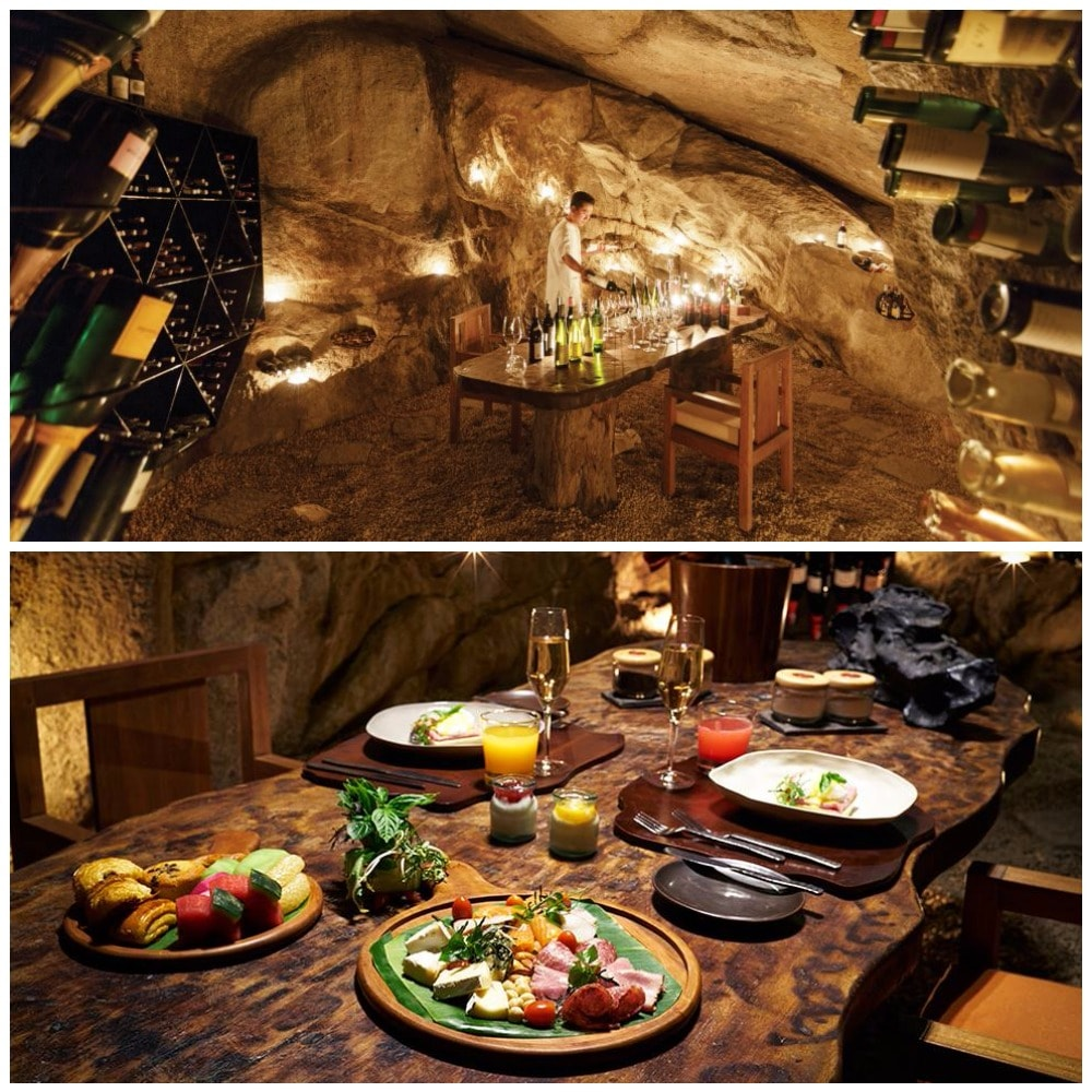 Do you like dining in a cave?