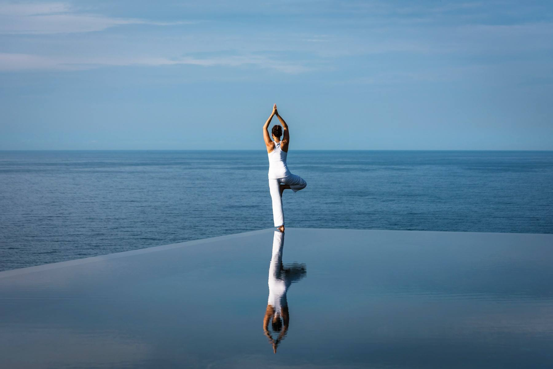 Renew your Yoga practice at Amanoi's Cliff Pool
