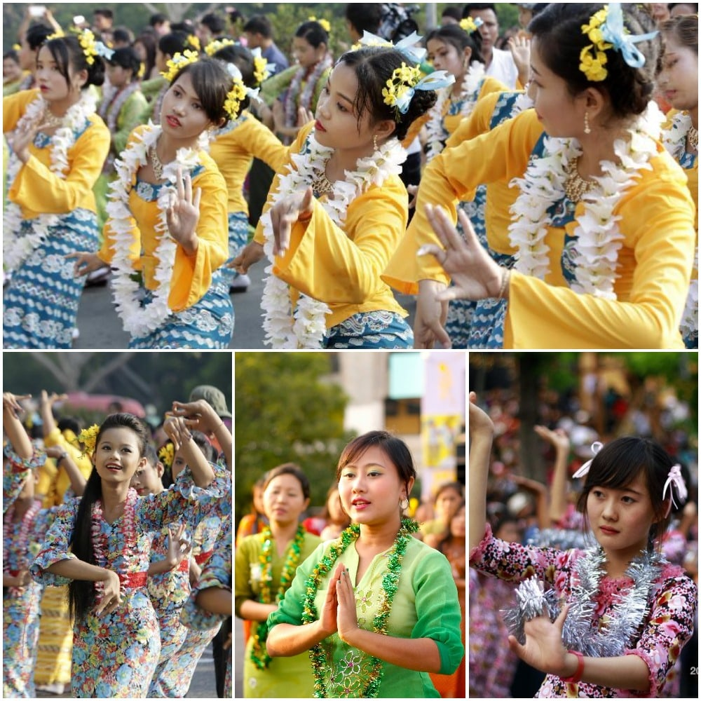 There are many other activities during Thingyan festival to keep you exciting all day.