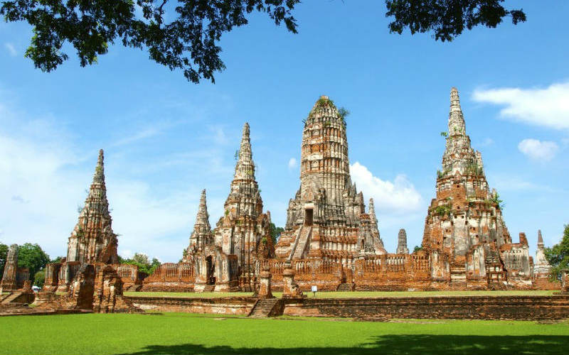 The old Ayutthaya Kingdom