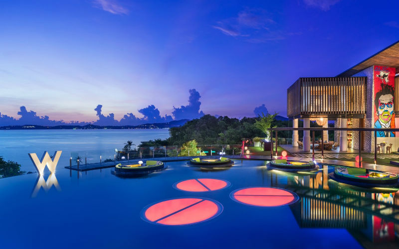 A unique tropical paradise - W Retreat Koh Samui