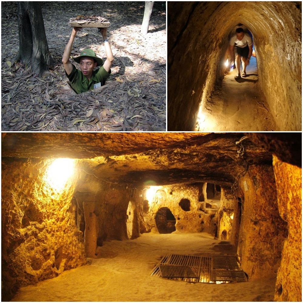 Cu Chi - the famous underground tunnel system