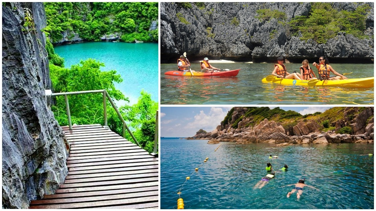 A day trip to Ao Thong Marine National Park has a lot of fun things to do