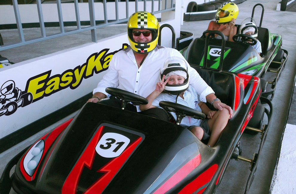 Make your kids happy with the amazing experience at the Samui Go-Kark