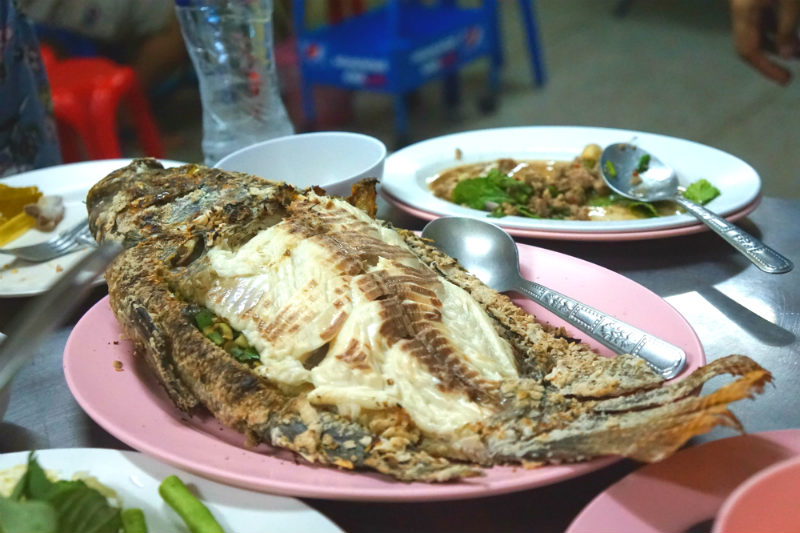 Thailand Grilled Fish