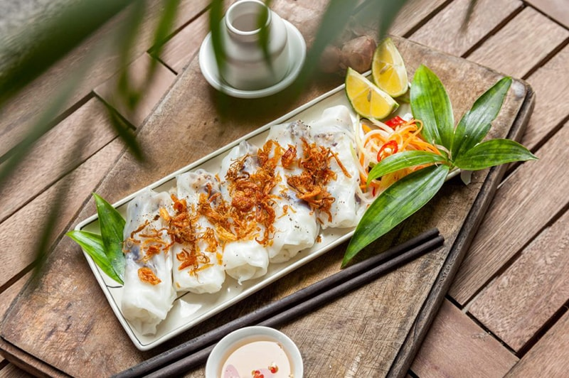 Banh Cuon- Rolled Cake