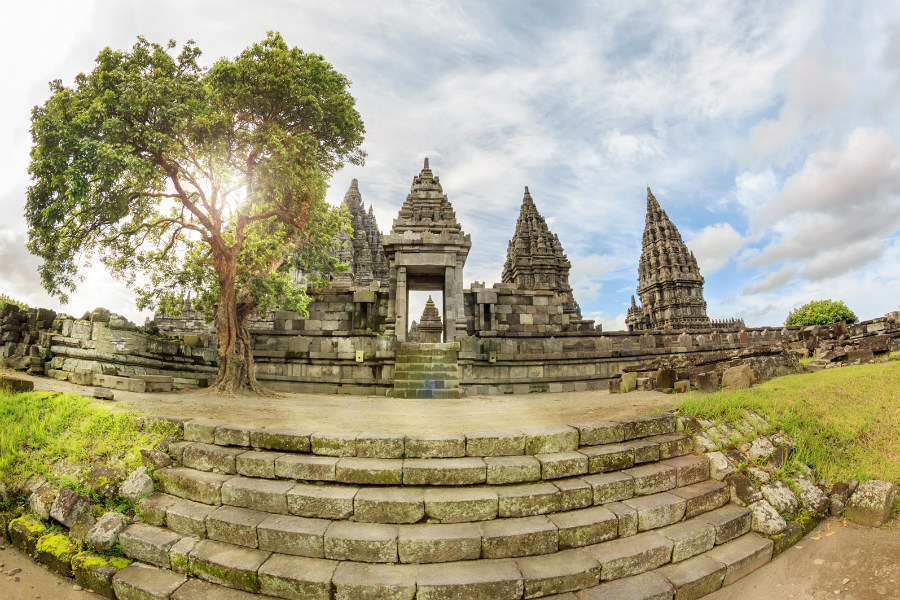 Prambanan Temple Compounds is one of the most attractions in Indonesia.