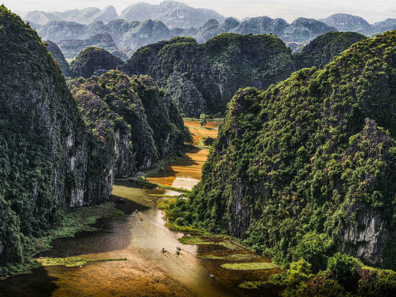 If you venture to Ninh Binh, you will see another Ha Long Bay 'on the land'