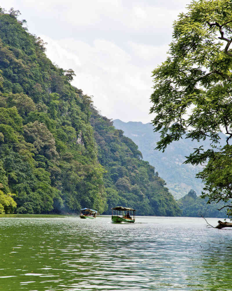 Nature lovers will like a trip to Ba Be National Park which is less than 5-hour drive from Hanoi