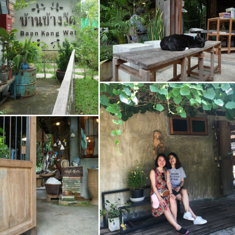 She loves the quietness and the lovely atmosphere of Baan Kang Wat