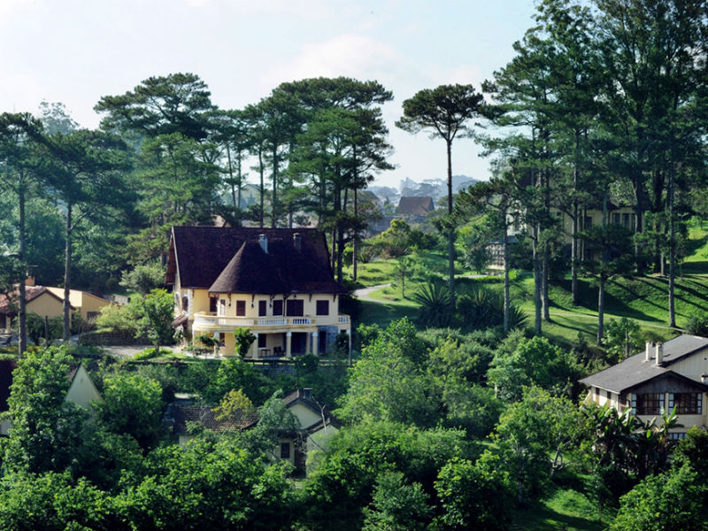 Colonial villas are iconic images of the city