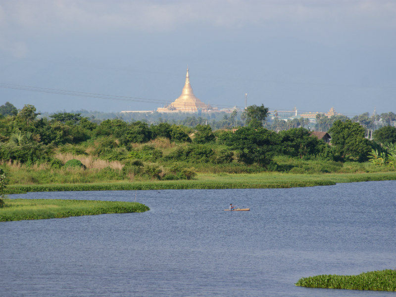 Scenicview of the new city Nay Pyi Taw
