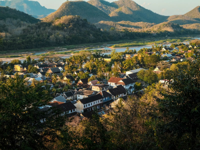 Luang Prabang is one of the most charming cities in Asia