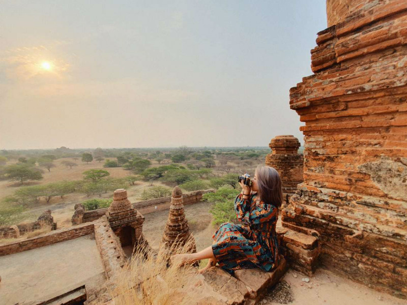Immersing yourself in the beauty of Old World Bagan