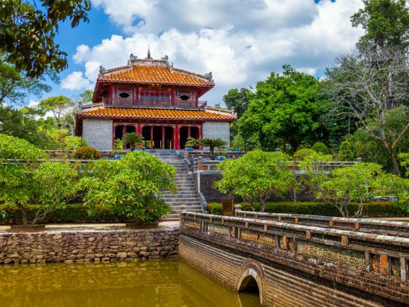 Minh Lau Pavilion at Minh Mang Tomb