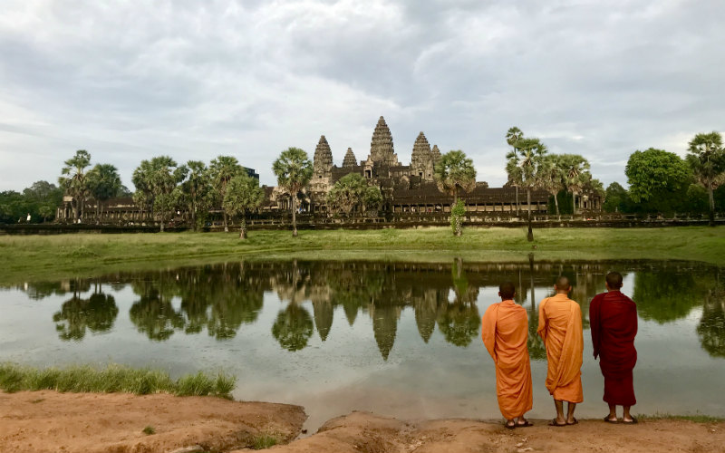 Take your time to soak in the world's largest religious monument and the daily life in Siem Reap