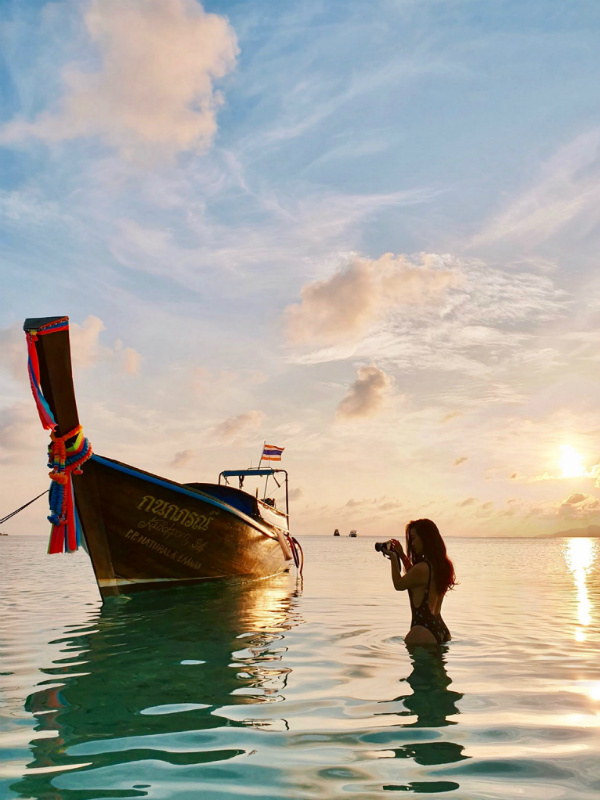 This island has some of the best beaches and the most amazing sunset in Thailand