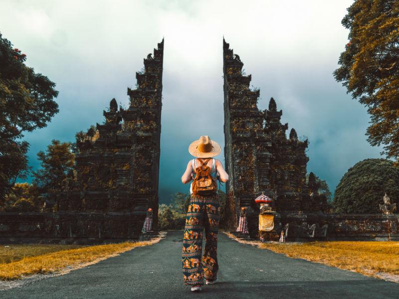 an impressive Hindu temple