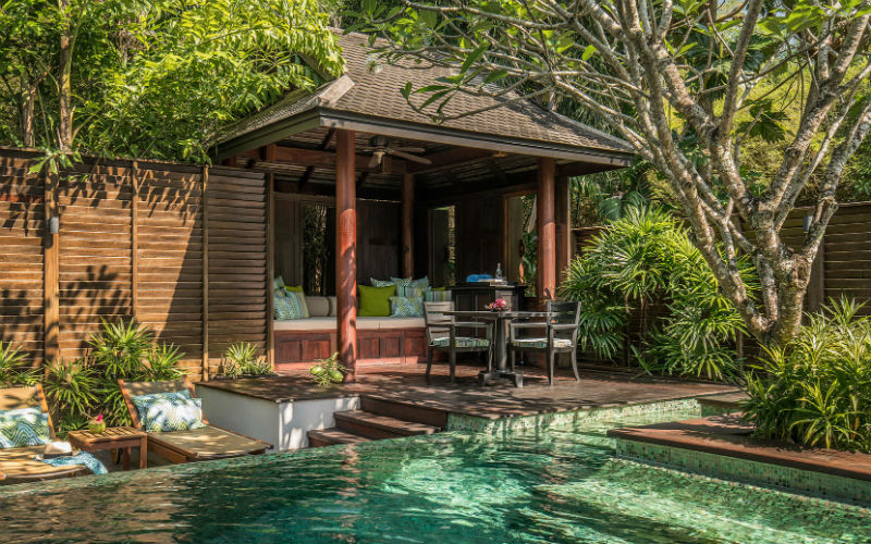 Refreshing at Villas Sala, Anantara Maikhao Phuket