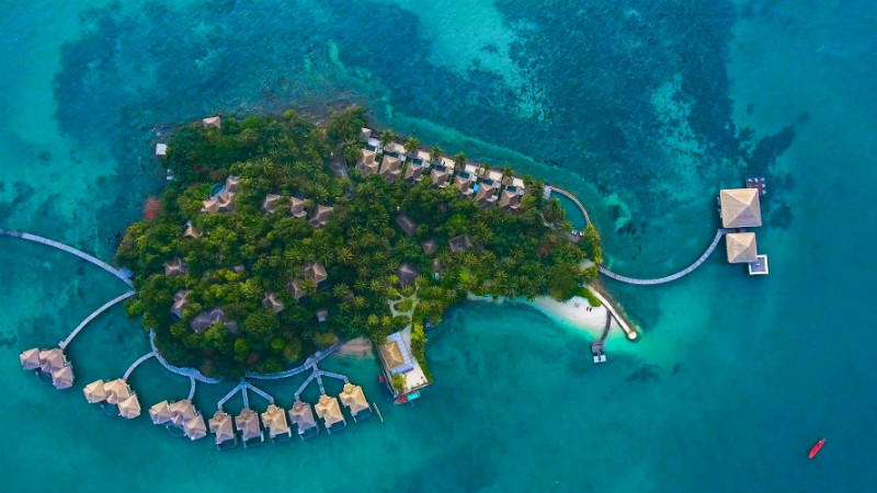 Song Saa is a secluded island, 18 miles off the coast of Sihanoukville, Cambodia