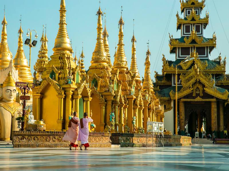 Visit the legendary Shwedagon Pagoda