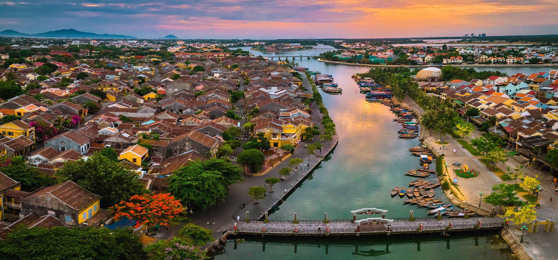 Romantische Flitterwochen in Vietnam
