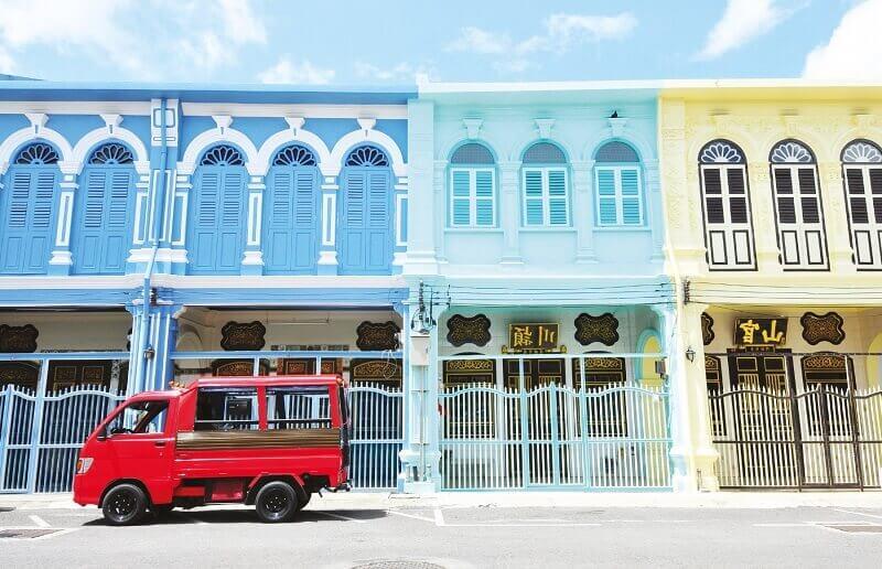 Destination Section POI Phuket Old Town