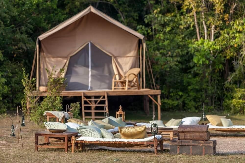 heritage camp setup
