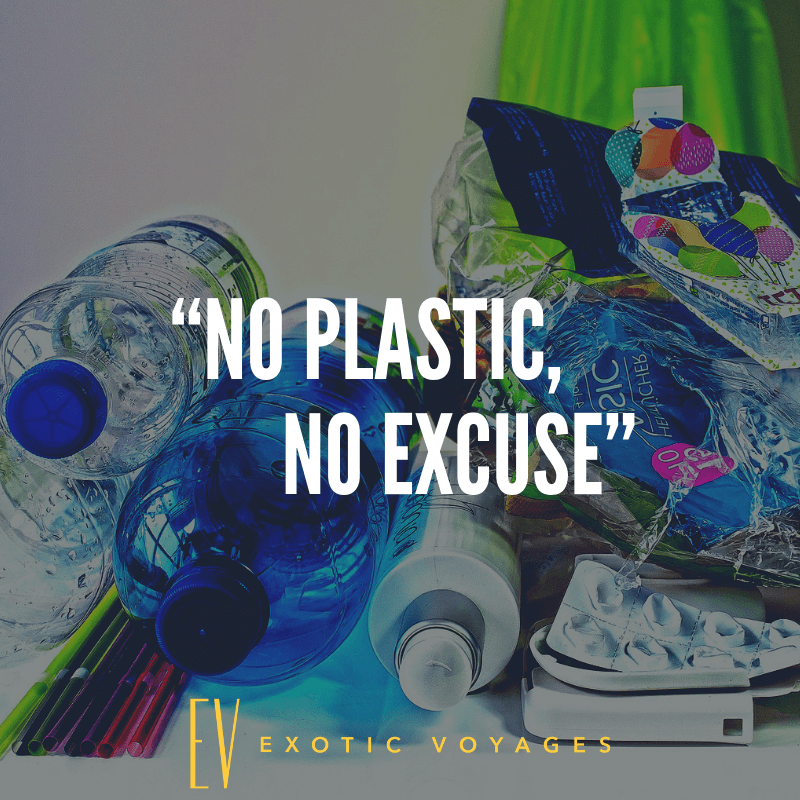 No Plastic- No Excuse