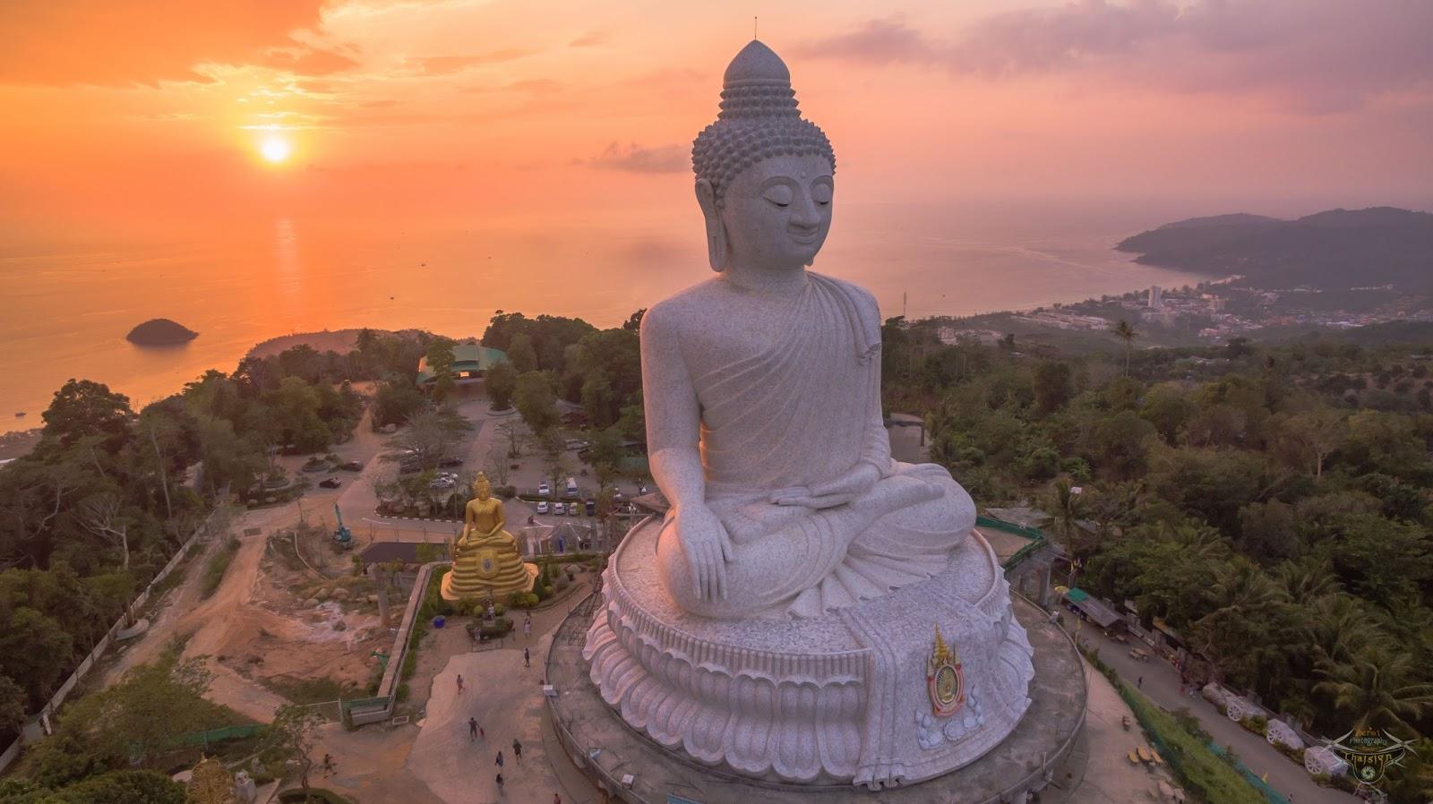 Phuket Big Buddha famous landmark