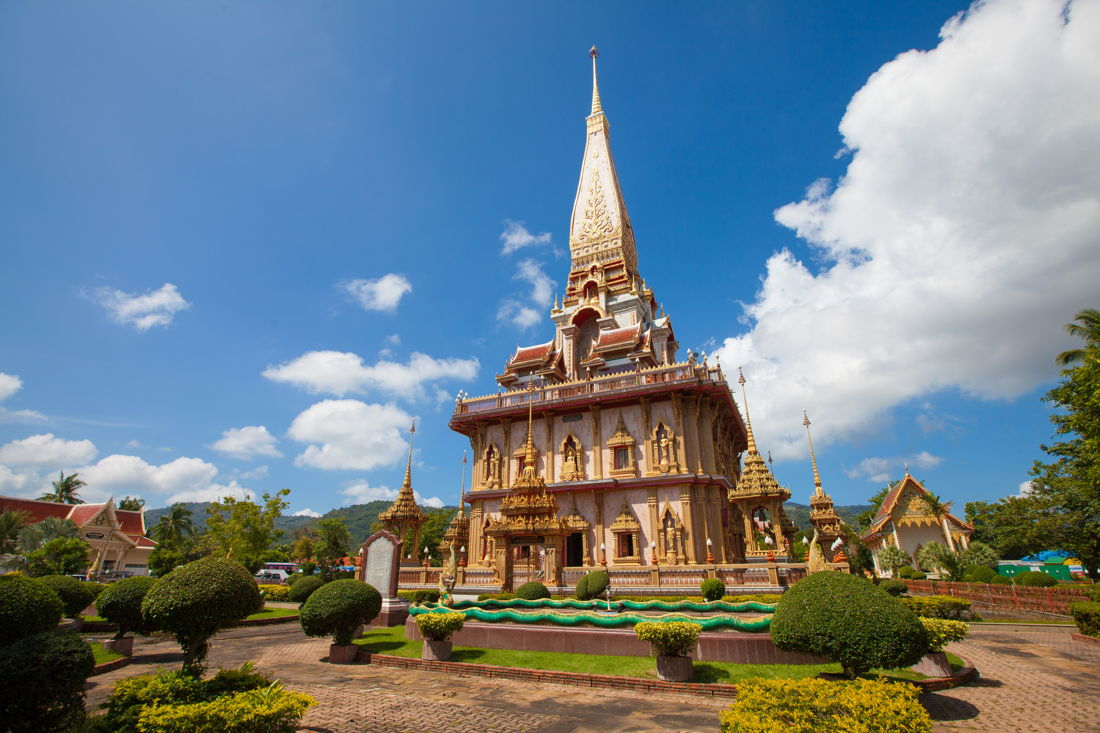 Phuket holiday services wat chalong main pagoda